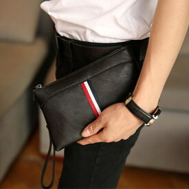 クラッチバッグ メンズ 小さめ レザー セカンドバッグ レディース クラッチ バッグ ポーチ 軽量 メンズバッグ 鞄 かばん カバン bag096