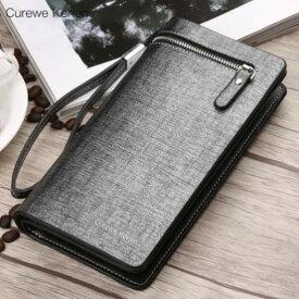 財布 メンズ 長財布 大容量 財布 レザー 革 レザーウォレット 多機能財布 レディース シンプル スマホ収納可能 全4色 ub2