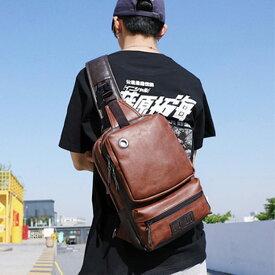 サコッシュ メンズ ボディバッグ ショルダーバッグ 大容量 ワンショルダー 旅行 旅行バッグ 大きめ タブレット イヤホンホール カジュアル bag077