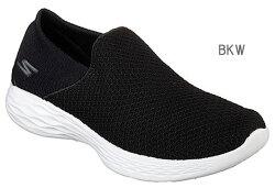 スケッチャーズ14951SKECHERSYOUGOGAMAXスリッポンスニーカーレディース婦人BKWWBKCHAR靴