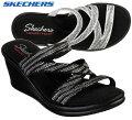 スケッチャーズSKECHERS32925RUMBLERS-MEGAFLASHウエッジソールサンダルレディース婦人BKSLWSL靴