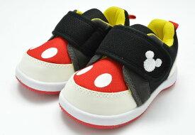 ディズニー Disney DS0180 ファーストシューズ スニーカー ベビー 赤ちゃん 子供 ブラック 靴 セール SALE 半額