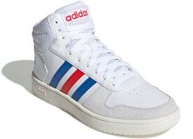 アディダス adidas EE7382 ADIHOOPS MID 2.0 スニーカー メンズ レディース 紳士 婦人 ランニングホワイト/ブルー/アクティブレッド 靴 セール SALE