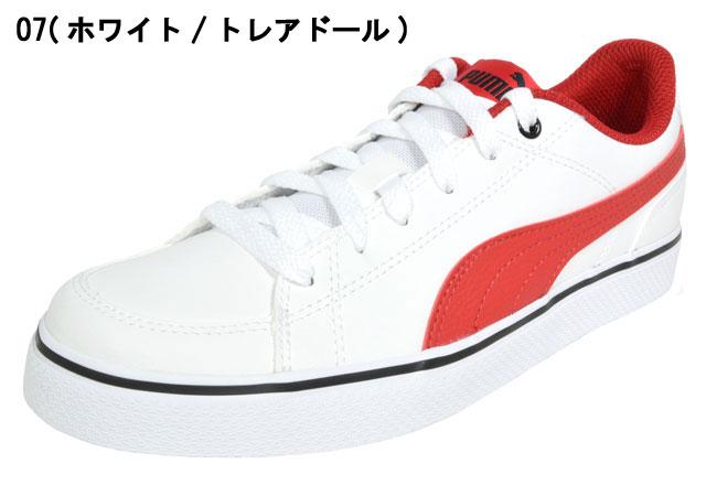 プーマ コートポイント バルク PUMA COURT POINT VULC V2 BG レディース スニーカー 婦人 靴 07 ホワイト/トレアドール 08 ホワイト/ブルーデプス 362947 セール SALE