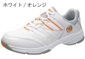 送料無料 [北海道、沖縄除く] ウィンブルドン WL-3500 WIMBLEDON スニーカー テニスシューズ レディース 婦人 4E 幅広 ホワイト/オレンジ ホワイト/ネイビー 靴