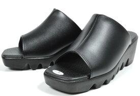 ルチアノ バレンチノ レディース サンダル ヘップ ウエッジソール 厚底 厚底サンダル 婦人 日本製 ブラック ブロンズ 6451 靴