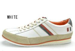 [エントリーでポイント5倍!3月4日20:00〜3月11日01:59]送料無料カステルバジャックCASTELBAJAC12126メンズ紳士男性レザー本革靴カジュアルシューズホワイトネイビー