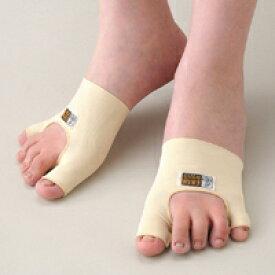 外反母趾・内反小指シルクサポーター 片足入り(左足用、右足用) 矯正サポーター メール便 送料無料