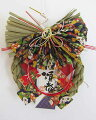新春リース飾り飛鶴・お正月お飾り・玄関リース飾り・開運招福