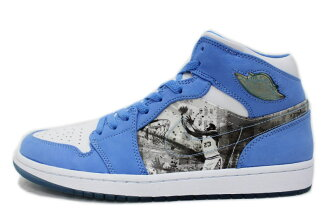 premium selection 093e3 32bf7 1 316,269-142 NIKE AIR JORDAN RETRO ALPHA nike Air Jordan 1 nostalgic alpha  North Carolina blue X white