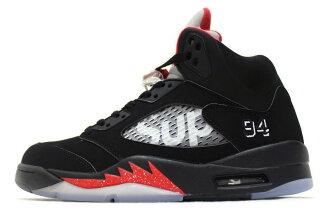 79a308f66fec49 auc-soleaddict  NIKE AIR JORDAN 5 RETRO SUPREME BLACK 824371-001 Nike Air  Jordan 5 retro Supreme Black
