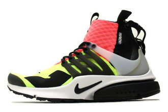 Nike×acronym AIR PRESTO MID HOT LAVA 844672-100 Nike acronium air Presto mid hot lava MULTI multi