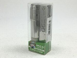 復刻版 IMCO(イムコ) フリントオイルライター イムコスーパー/ロゴ付 SURER 6700P IM6761391