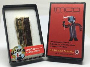 復刻版 IMCO(イムコ) フリントオイルライター 革貼りイムコスーパー ブラス #61387