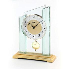 【正規輸入品】ドイツ アームス AMS 1167 クオーツ 置き時計 (置時計) 振り子つき ゴールド 【記念品 贈答品に名入れ(銘板作成)承ります】【熨斗印刷承ります】