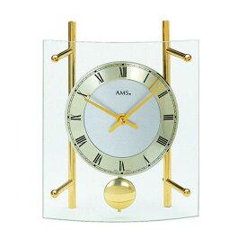 【正規輸入品】ドイツ アームス AMS 135 クオーツ 置き時計 (置時計) 振り子つき ゴールド 【記念品 贈答品に名入れ(銘板作成)承ります】【熨斗印刷承ります】