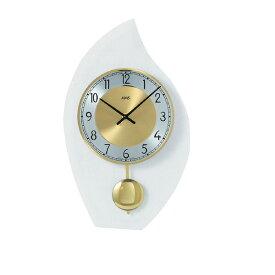 【正規輸入品】ドイツ アームス AMS 7150 クオーツ 掛け時計 (掛時計) 振り子つき ゴールド 【記念品 贈答品に名入れ(銘板作成)承ります】【熨斗印刷承ります】[送料区分(大)]