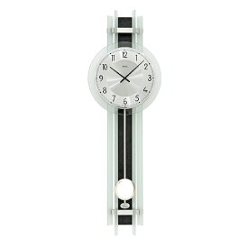 【正規輸入品】ドイツ アームス AMS 7250 クオーツ 掛け時計 (掛時計) 振り子つき ブラック 【記念品 贈答品に名入れ(銘板作成)承ります】【熨斗印刷承ります】[送料区分(大)]