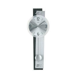 【正規輸入品】ドイツ アームス AMS 7255 クオーツ 掛け時計 (掛時計) 振り子つき ブラック 【記念品 贈答品に名入れ(銘板作成)承ります】【熨斗印刷承ります】[送料区分(大)]