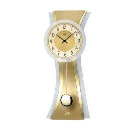 【正規輸入品】ドイツ アームス AMS 7267 クオーツ 掛け時計 (掛時計) 振り子つき ゴールド 【記念品 贈答品に名入れ(銘板作成)承ります】【熨斗印刷承ります】[送料区分(大)]
