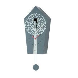 【正規輸入品】ドイツ アームス AMS 7287 クオーツ 鳩時計 カッコー グレー 【記念品 贈答品に名入れ(銘板作成)承ります】【熨斗印刷承ります】[送料区分(大)]