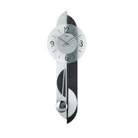 【正規輸入品】ドイツ アームス AMS 7299 クオーツ 掛け時計 (掛時計) 振り子つき ブラック 【記念品 贈答品に名入れ(銘板作成)承ります】【熨斗印刷承ります】[送料区分(大)]