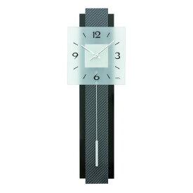 【正規輸入品】ドイツ アームス AMS 7313 クオーツ 掛け時計 (掛時計) 振り子つき ブラック 【記念品 贈答品に名入れ(銘板作成)承ります】【熨斗印刷承ります】[送料区分(大)]
