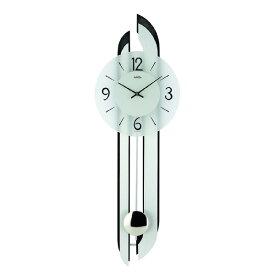 【正規輸入品】ドイツ アームス AMS 7330 クオーツ 掛け時計 (掛時計) 振り子つき ブラック 【記念品 贈答品に名入れ(銘板作成)承ります】【熨斗印刷承ります】[送料区分(大)]