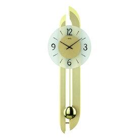 【正規輸入品】ドイツ アームス AMS 7331 クオーツ 掛け時計 (掛時計) 振り子つき ゴールド 【記念品 贈答品に名入れ(銘板作成)承ります】【熨斗印刷承ります】[送料区分(大)]
