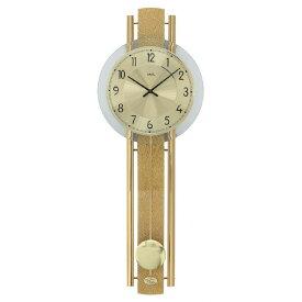 【正規輸入品】ドイツ アームス AMS 7381 クオーツ 掛け時計 (掛時計) 振り子つき ゴールド 【記念品 贈答品に名入れ(銘板作成)承ります】【熨斗印刷承ります】[送料区分(大)]