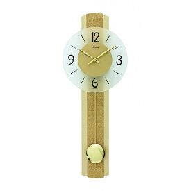 【正規輸入品】ドイツ アームス AMS 7387 クオーツ 掛け時計 (掛時計) 振り子つき ゴールド 【記念品 贈答品に名入れ(銘板作成)承ります】【熨斗印刷承ります】[送料区分(大)]