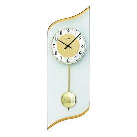 【正規輸入品】ドイツ アームス AMS 7437 クオーツ 掛け時計 (掛時計) 振り子つき ゴールド 【記念品 贈答品に名入れ(銘板作成)承ります】【熨斗印刷承ります】[送料区分(大)]