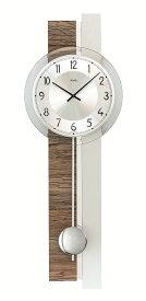 【正規輸入品】ドイツ アームス AMS 7438 クオーツ 掛け時計 (掛時計) 振り子つき ブラウン 【記念品 贈答品に名入れ(銘板作成)承ります】【熨斗印刷承ります】[送料区分(大)]