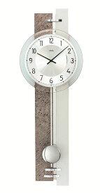 【正規輸入品】ドイツ アームス AMS 7440 クオーツ 掛け時計 (掛時計) 振り子つき ストーン 【記念品 贈答品に名入れ(銘板作成)承ります】【熨斗印刷承ります】[送料区分(大)]