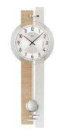【正規輸入品】ドイツ アームス AMS 7441 クオーツ 掛け時計 (掛時計) 振り子つき ナチュラル 【記念品 贈答品に名入れ(銘板作成)承ります】【熨斗印刷承ります】[送料区分(大)]