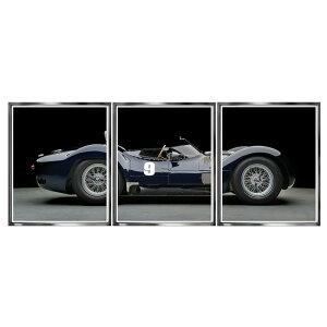 【正規輸入品】ブルックペース Brookpace Fine Arts ピクチャーアート トリプティクコレクション Maserati Birdcage マセラティ・バードゲージ TT8 英国製 [送料区分(大)]