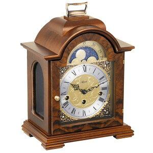 【正規輸入品】ドイツ ヘルムレ HERMLE 22864-030340 機械式置時計 ウォルナット [送料区分(大)]
