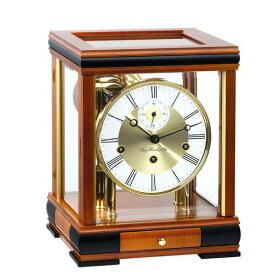 【正規輸入品】ドイツ ヘルムレ HERMLE 22998-160352 機械式置時計 チェリーウッド [送料区分(大)]