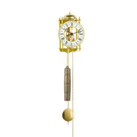 【正規輸入品】ドイツ ヘルムレ HERMLE 70332-000711 機械式掛け時計 ゴールド [送料区分(大)]