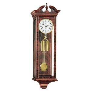 ドイツヘルムレHERMLE70743-070351機械式掛け時計マホガニー[送料別途お見積り]