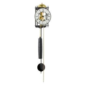 【正規輸入品】ドイツ ヘルムレ HERMLE 70974-000711 機械式掛け時計 ブラック [送料区分(大)]
