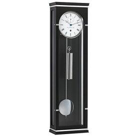 【正規輸入品】ドイツ ヘルムレ HERMLE 70977-740761 機械式掛け時計 ブラック [送料別途お見積り][送料区分(大)]