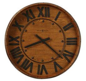 【正規輸入品】 アメリカ ハワードミラー 625-453 HOWARD MILLER WINE BARREL WALL クオーツ式掛け時計 [送料区分(大)]