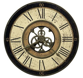 【正規輸入品】 アメリカ ハワードミラー 625-542 HOWARD MILLER BRASS WORKS クオーツ式掛け時計 [送料区分(大)]