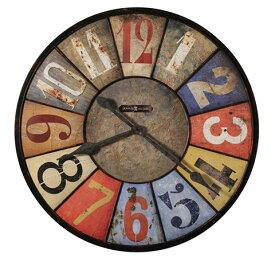 【正規輸入品】 アメリカ ハワードミラー 625-547 HOWARD MILLER COUNTY LINE クオーツ式掛け時計 [送料区分(大)]