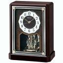 セイコー クロック 電波 置き時計 (置時計) BY243B スタンダード 回転飾りつき 【記念品 贈答品 名入れ承ります】【熨斗印刷承ります】
