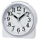 セイコー クオーツ NR439W めざまし時計 ピクシス スタンダード 白パール