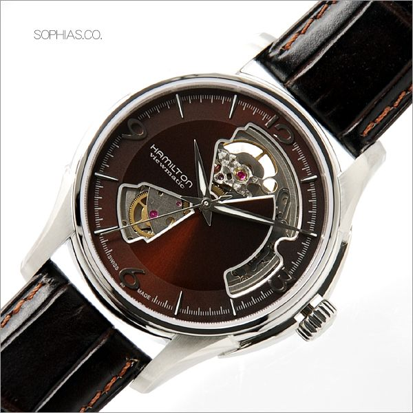 HAMILTON ハミルトン H32565595 腕時計 ジャズマスター ビューマチック オープンハート 【長期保証3年付】