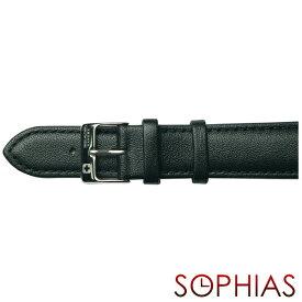 スイスミリタリー 純正 腕時計 替えベルト プリモ ブラック レザー メンズ 20mm幅
