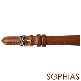 スイスミリタリー 純正 腕時計 替えベルト プリモ ブラウン レザー レディース(ML423用)12mm幅